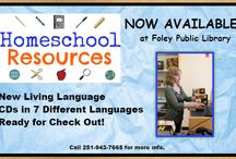Homeschool Resources / by Foley Public Library