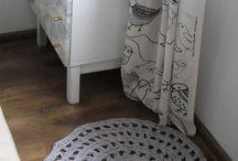 crochet dywany
