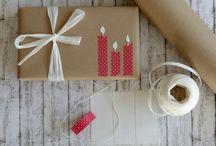 Weihnachtsgeschenke-Verpackung