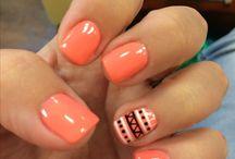 Gel manucure / Nails design