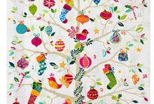 Cool Yule / Fabric Collection designed by Makower UK.