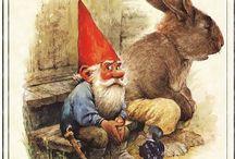 gnomes lutins fées et farfadets