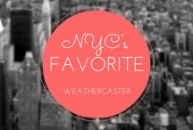 New York City's Favorite Weathercaster / New York City's Meteorologist who are selected to become 2014 NYC's FAVORITE WEATEHRCASTER.. Vote @ http://bit.ly/nycfav