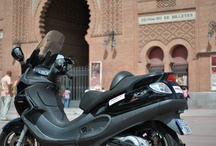 Madrid en Moto / Madrid vista desde la moto