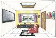 Drawing- Perspective room