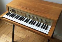 Organ, synth en keyboard