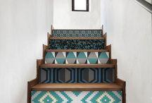 escalier relooké