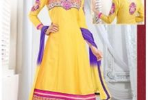 Attractive Embroidery Anarkali Suit