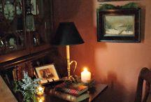 Warm and elegant corner