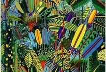 Seychelles art painters / Art