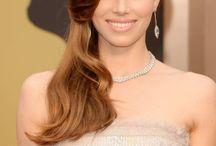Accesorios, maquillajes y peinados en los Oscars 2014 / Belleza y moda