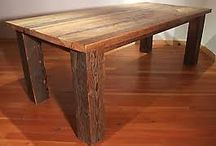 Reclaimed Wood Table Project