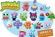 Moshi Monsters / Picture of some of the great Moshi Monsters Mashup Trading Cards and Moshi Monsters Moshling figures available on our website.