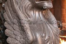 Hand Carved Architectural Stone Detailing / These hand carved architectural stone detailing designs are breathtaking.