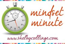 Mindset Minute Audios & Videos / Thought Expert Shelby Collinge shares a weekly three minute message to get YOU thinking in new ways!!  WATCH now and SEE what happens!!  ;-D
