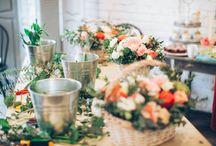 Flowersworkshop/ Цветочные встречи / В нашей мастерской время от времени проходят цветочные встречи, на которых мы делимся опытом и выполняем тематические задания на разные темы