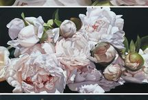 Thomas Darnell / Floral paintings