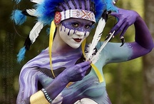 BodyPainting / Bodyart, Body as a Temple,