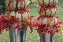 Fall Outdoor Decor / by Regina Beane Feagin