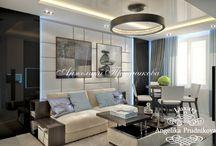 Дизайн интерьера для мужской квартиры в стиле минимализм в ЖК Богородское / Интерьер квартиры в ЖК «Богородское» притягивает простотой минималистского стиля. Для создания пространства и экономии места, гостиная совмещена со столовой. Чёрные и белые цвета вносят изысканность в дизайн комнат. В интерьер внесены декоративные элементы, которые подчёркивают мужественность квартиры.