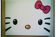 Hello kitty posters / by Kitty White