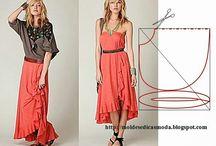 DIY Nähen / Neue Kleidung / Schnittmuster