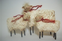 sheep / by Sharon Cutbirth Hollenbeck Malenke
