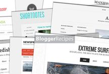 Blogger Templates / Board to help you pick a template for your Blogger blog