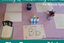 {Handwriting & Fine Motor} / by Samantha Morron
