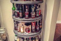 bar table shelf