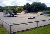 Exterior Skateparks