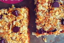 Snack Recipes / Snacks to make so we're not eating processed junk when hungry!  / by Elysia D