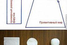 Poupee / En tissu