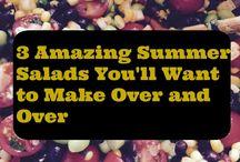 BA50s LOVE Salads! / Salads of every kind