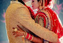 Wedding poses / #Against #flash #perfect #lighting #perfect #couple #perfect #pose #wedding #red #lehenga #Golden #sherwani #Mehndi #captured #by ZARA PHOTOGRAPHY