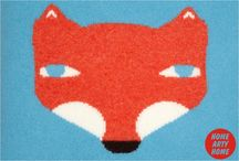 Foxy Home Art & Accessories / Fox & Foxes in the home  http://homeartyhome.com/tag/foxy-friday/