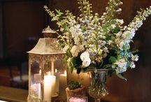 Kwiaty i ozdoby na stół