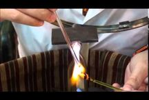 Video Glass lampwork demonstaion in Rome