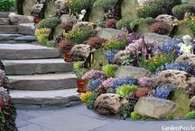 Rock Garden / All things about rock gardens (rockeries) - from creating to planting and care
