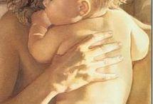 pinturas maternidad