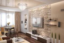 pared con piedra