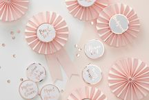 Rose gold hen party
