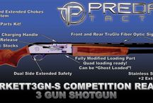 #BURKETT3GN-S COMPETITION 3 GUN SHOTGUN / Pics and such of my new shotgun! Hope you like it!
