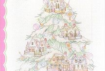 Embroidery - Christmas / Anything with a Christmas theme which requires hand stitching