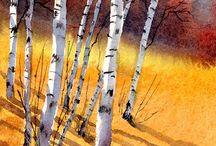 Art - Trees / by Trudy Allen