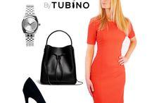 Pencil Dress Coco Orange / Deze jurk is diep oranje van kleur en zorgt voor een elegante en niet alledaagse look. Als rood een te harde kleur is voor jou, is dit het perfecte alternatief. Aan de achterkant van de jurk zit een opvallende rits, deze kan ook in zwart en cognac kleur gekozen worden. Draag haar zomers met lichte accenten zoals wit, taupe, babyblauw, en in de winter met zwart of bruin.