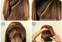 saç denemelerii