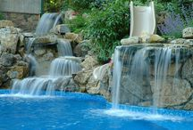 Pool Landscapes / Edward's Landscaping offers a full range of pool landscaping services. On this board, you will find ideas for your dream pool landscape.