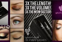 3D Fiber Lash Mascara / Moodstruck 3D mascara....false lashes in a bottle!!