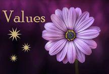 Values / My values